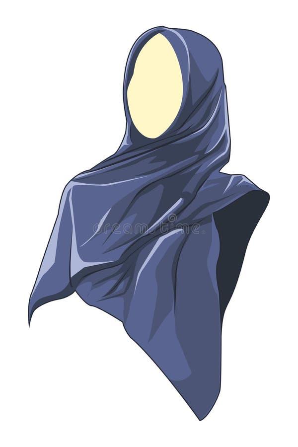 Schöne moslemische Frauen tragen hijab 5 stockfotos