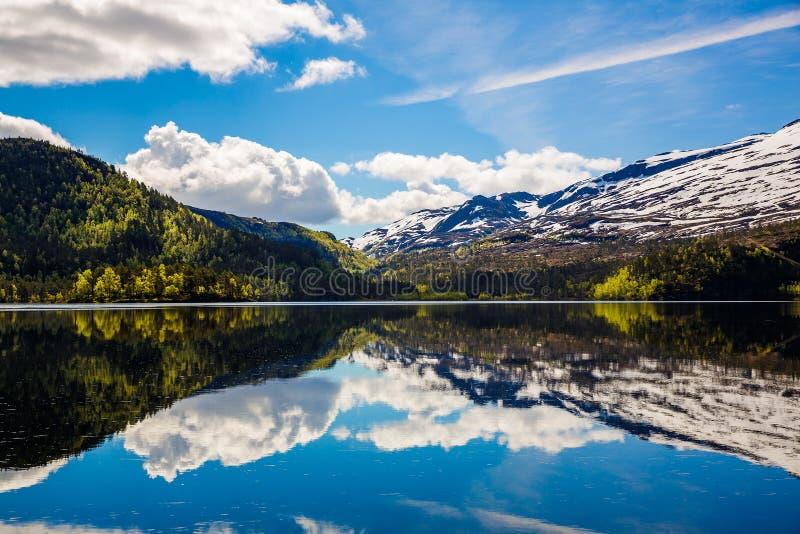Schöne Natur Norwegen stockfotos