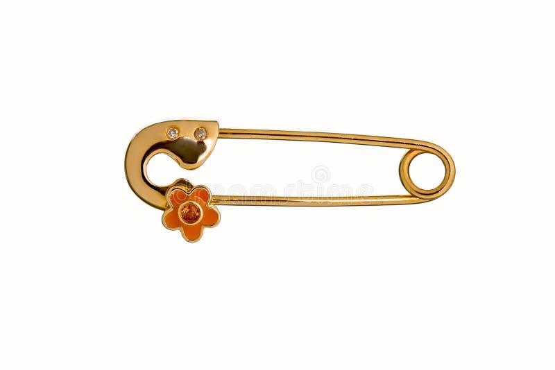 Schöne nette Baby- u. Kindersicherheit Pin Brooch Jewelry mit dem SAF stockfoto