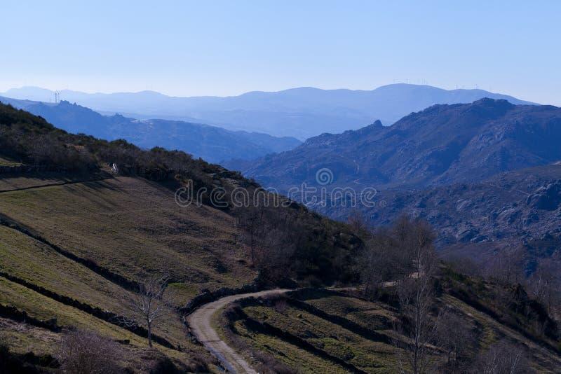 Schöne portugiesische Landschaft stockfoto