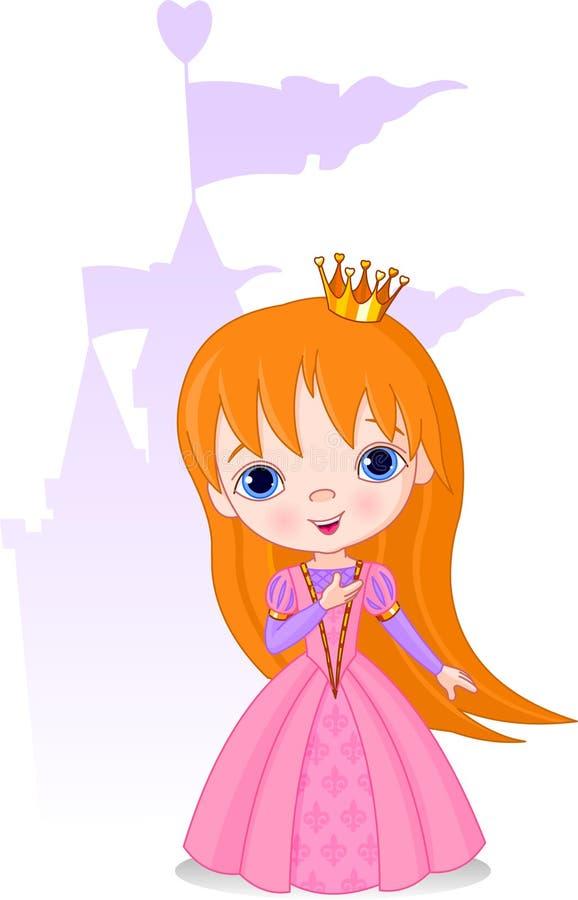 Schöne Prinzessin vektor abbildung