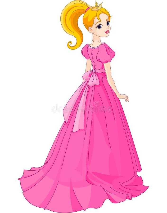 Schöne Prinzessin lizenzfreie abbildung