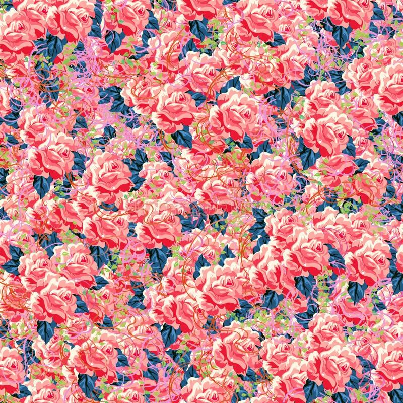 Schöne Rosen stock abbildung