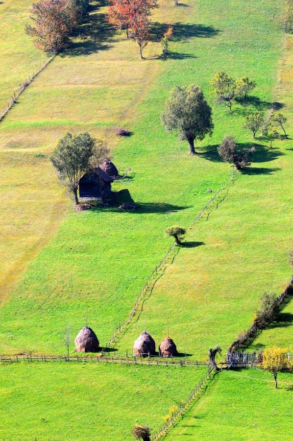Schöne rumänische Landschaft lizenzfreie stockfotos