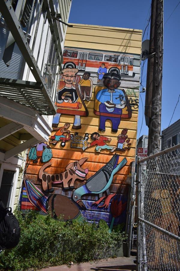 Schöne sehr kreative Wandgemälde der Fanfaren-Gasse sehr, 48 lizenzfreie stockfotos
