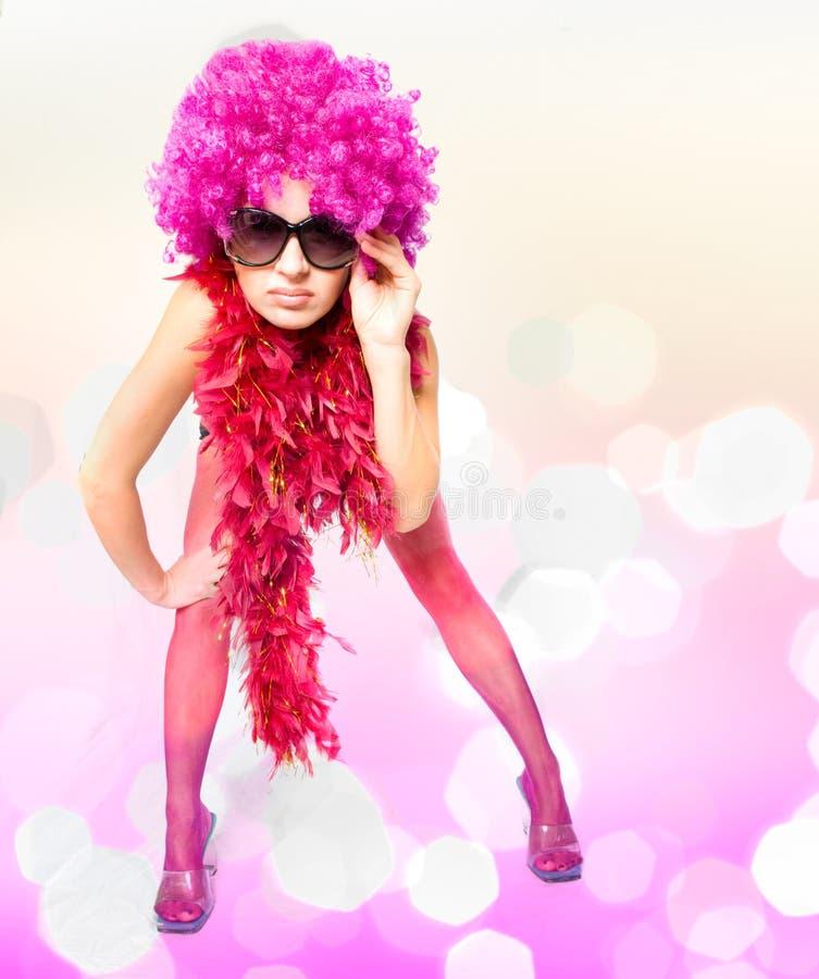 Schöne sexuelle Frau lizenzfreie stockbilder