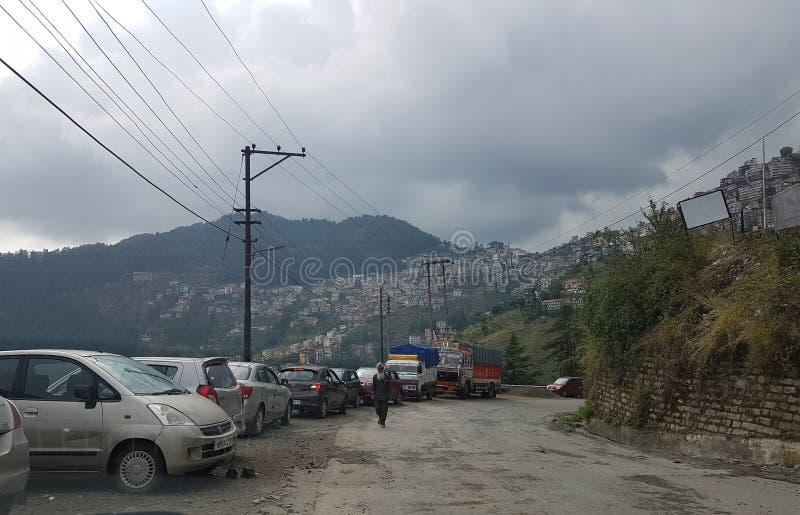 Schöne Shimla-Ansicht lizenzfreies stockbild