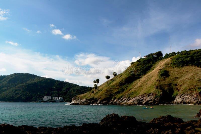 Schöne Sommerferien in Yanui-Strand stockbilder