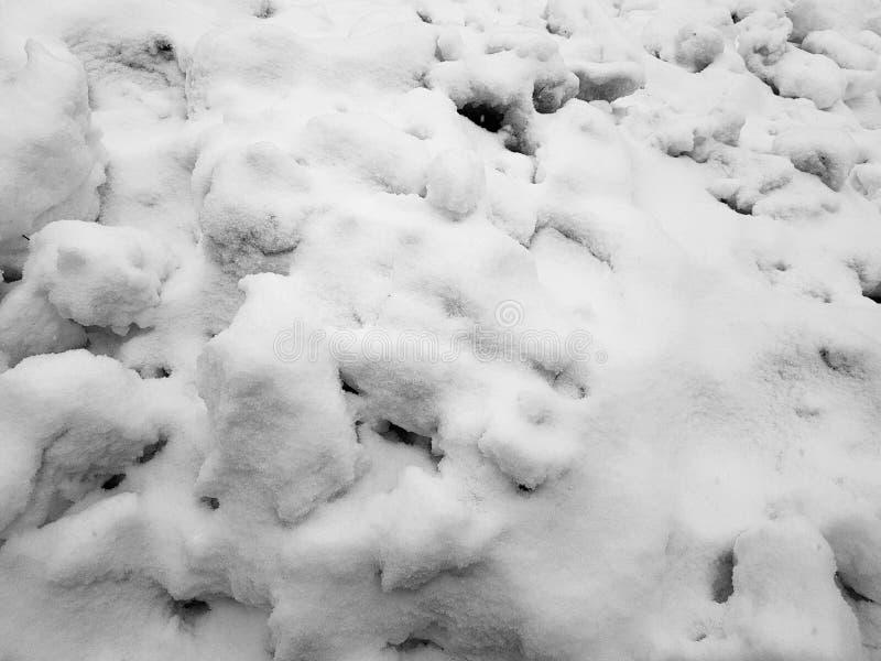 Schöne Steigungshintergrundfahne für Text - Beschaffenheit des ungleichen Schnees lizenzfreie stockbilder