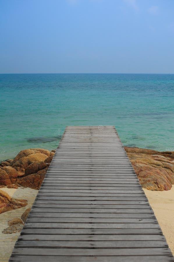 Schöne Strand Munnork-Insel, Thailand lizenzfreies stockfoto