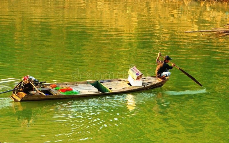 Schöne Szene, Vietnam-Land, Buon ich Thuot-Reise stockbild