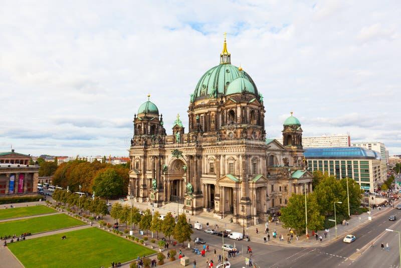 Schöne Tagesansicht von Berlin Cathedral (Bewohner von Berlin Dom), stockfotos