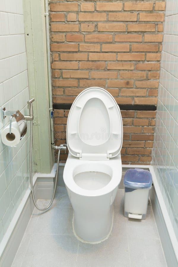 Schöne Toilette im Haus lizenzfreie stockbilder
