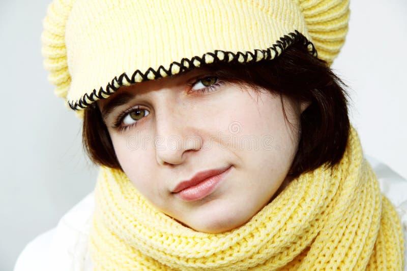 Schöne Winter-Frau 7 lizenzfreie stockbilder