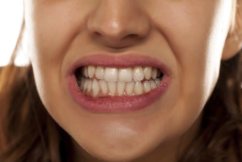 Schöne Zähne stockfotos