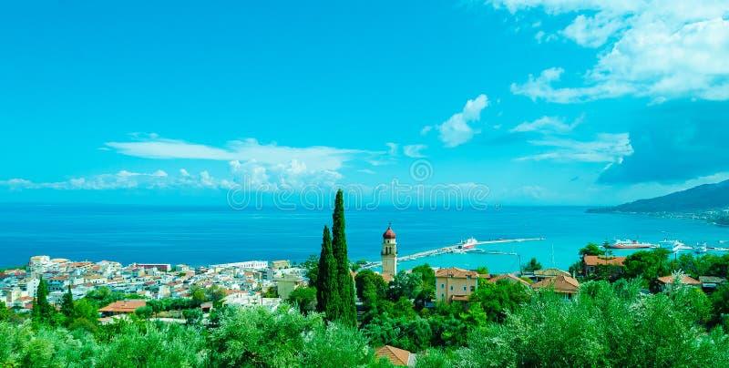 Schöne Zakynthos-Insel, Griechenland lizenzfreies stockbild