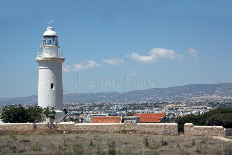 Schöne Zypern-Skyline stockbilder