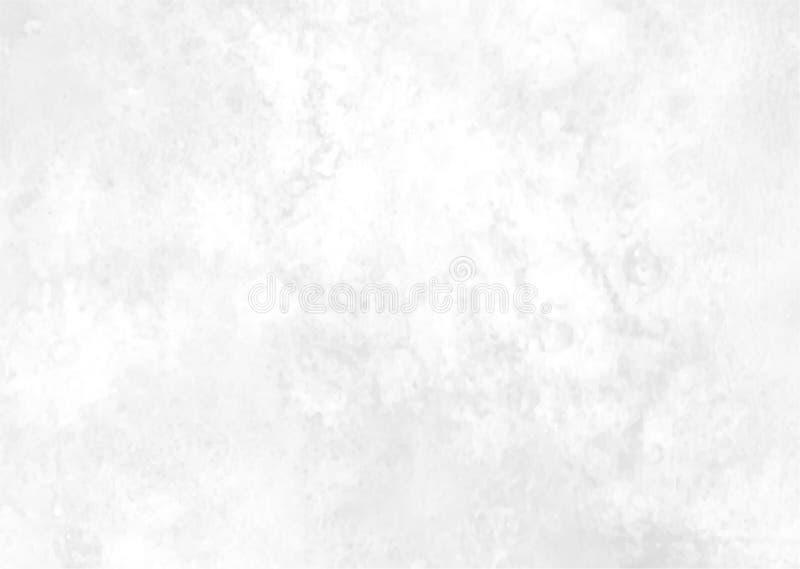Schöner Aquarellzusammenfassungshintergrund In den Schatten des Graus mit dem Effekt des Marmorns Auch im corel abgehobenen Betra stock abbildung