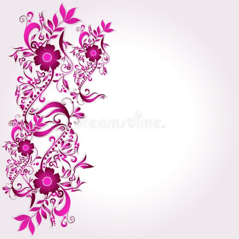 Schöner Blumenhintergrund vektor abbildung