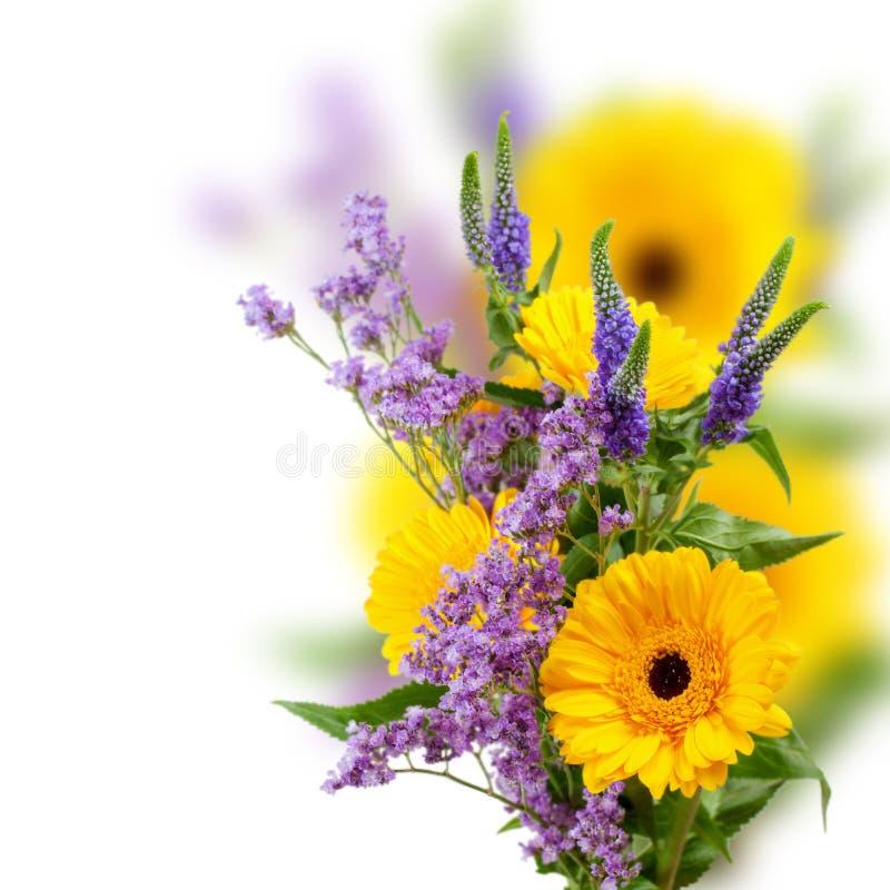 Blumenstrauß von Gerbera lizenzfreie stockfotografie