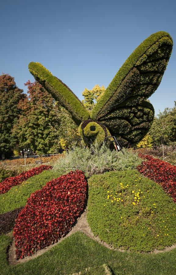 Schöner botanischer Garten von Montreal lizenzfreie stockfotografie