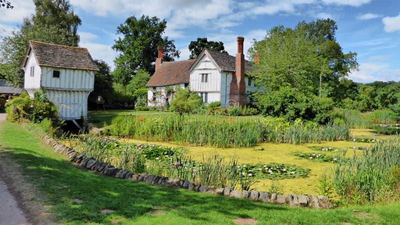 Schöner Broughton-Zustand in Worcestershire, Vereinigtes Königreich stockfotografie