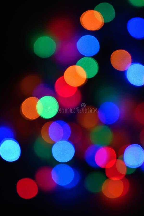 Schöner bunter undeutlicher Hintergrund für Weihnachten und guten Rutsch ins Neue Jahr Abstrakt - bokeh lizenzfreie stockfotografie