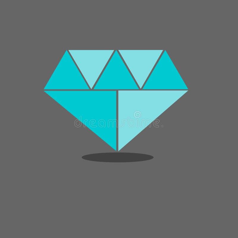 Schöner Diamant lizenzfreie stockfotos