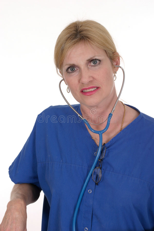 Schöner Doktor oder Krankenschwester 18 lizenzfreie stockfotografie
