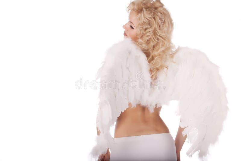 Schöner Engel lizenzfreie stockfotografie