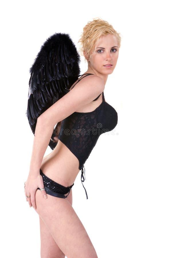 Schöner Engel lizenzfreies stockfoto