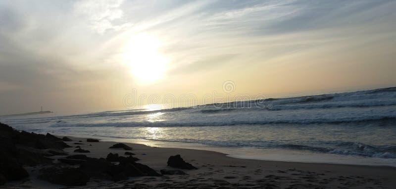 Schöner exotischer Strand lizenzfreie stockfotografie