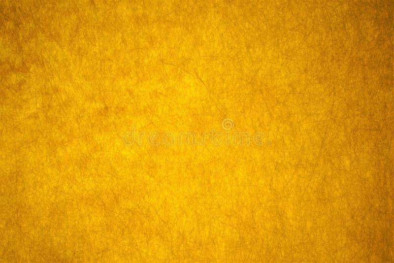 Schöner faserartiger gelber abstrakter Hintergrund lizenzfreies stockbild