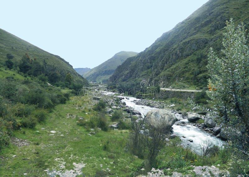 Schöner Fluss lizenzfreies stockbild