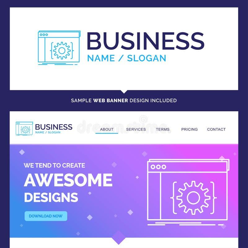 Schöner Geschäfts-Konzept-Markenname API, App, Kodierung, entwickeln sich lizenzfreie abbildung