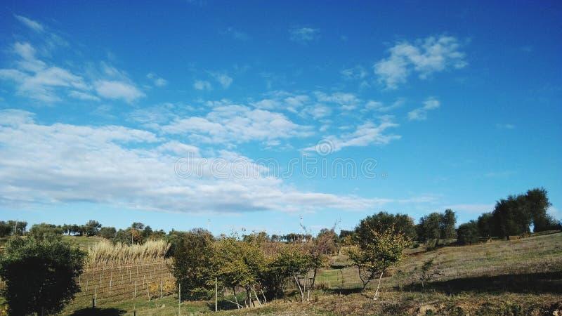 Schöner Himmel lizenzfreies stockfoto