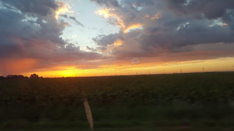 Schöner Himmel lizenzfreies stockbild