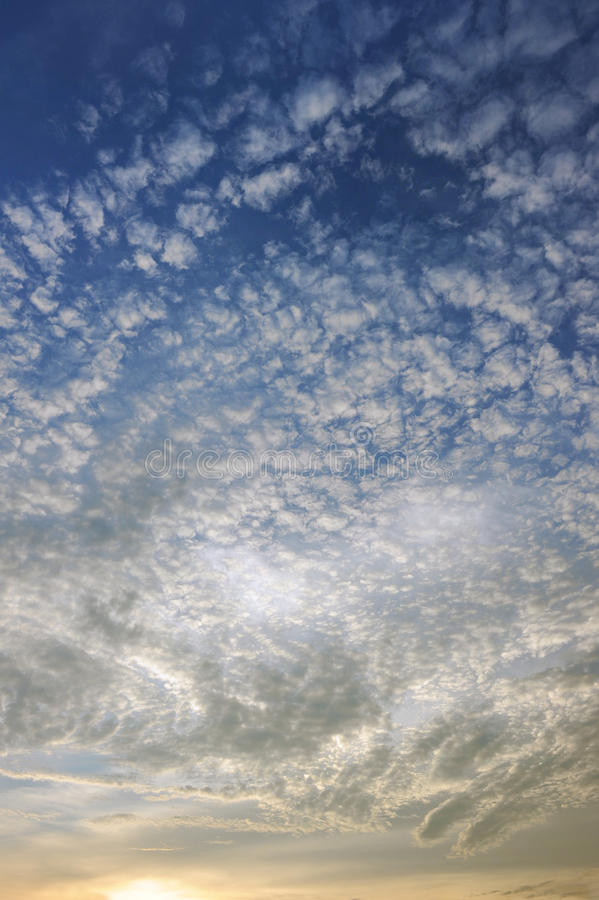 Schöner Himmel stockfotos