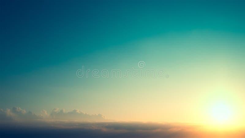 Schöner Himmel lizenzfreie stockbilder