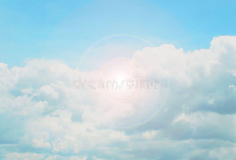 Schöner Himmel, Indigofarben, natürlich Streuung lizenzfreie stockfotografie