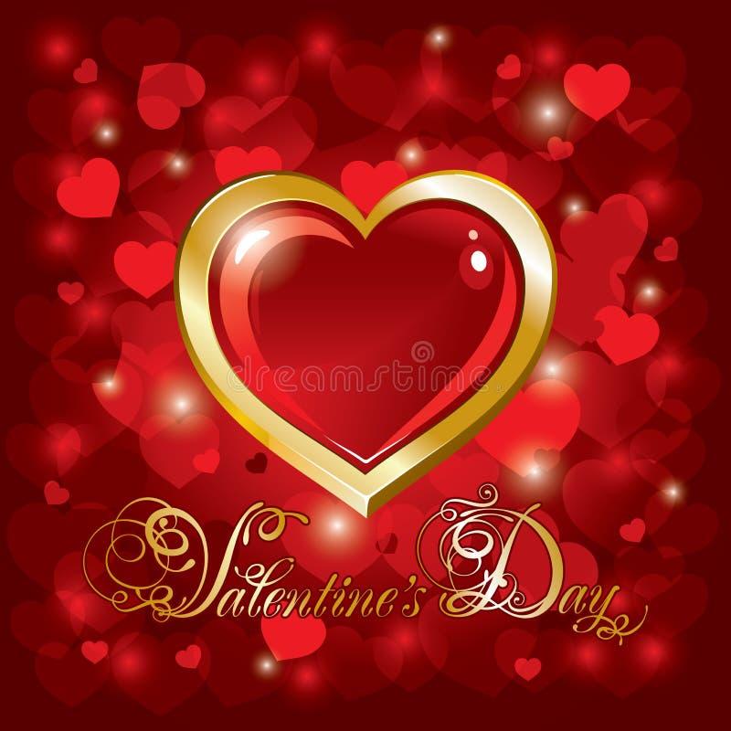 Perfekt Download Schöner Hintergrund Auf Valentinstag Vektor Abbildung    Illustration Von Magie, Auszug: 17642949