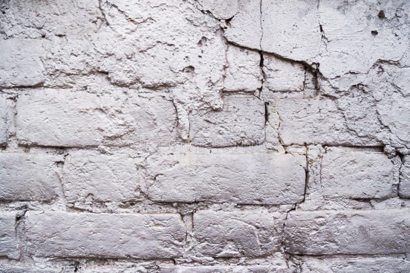 Schöner Hintergrund des silbernen, grauen Ziegelsteines lizenzfreies stockfoto