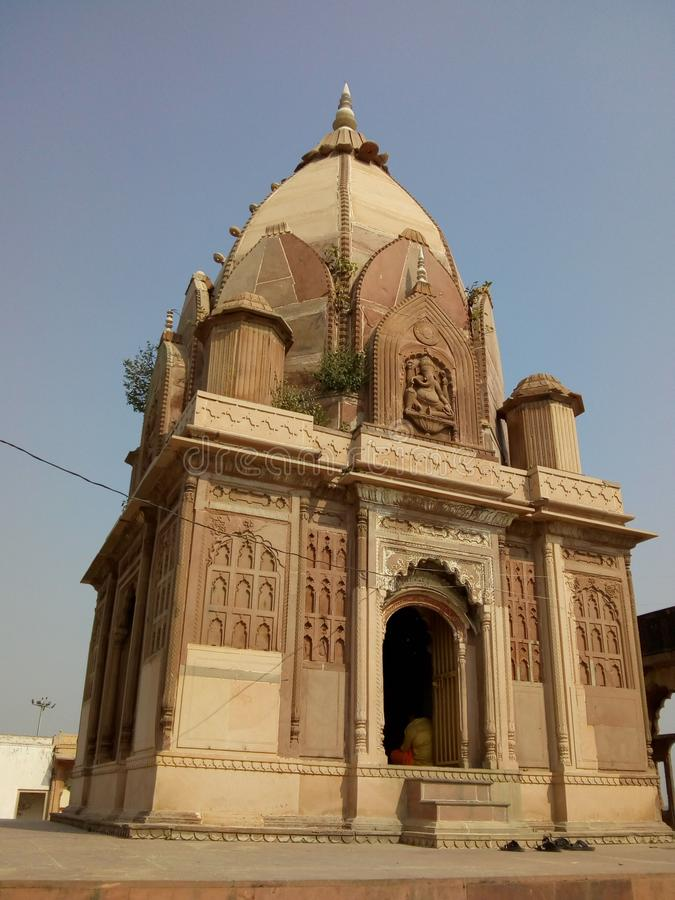 Schöner historischer Tempel stockbilder