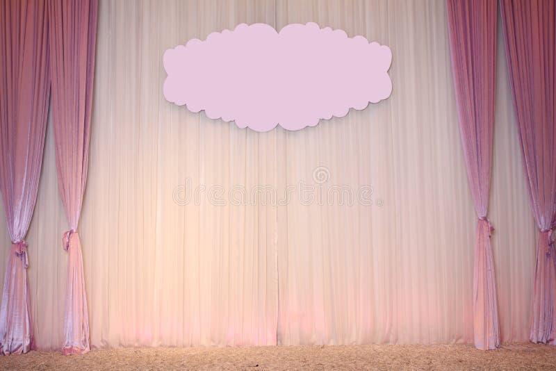 Schöner Hochzeits-Hintergrund stock abbildung