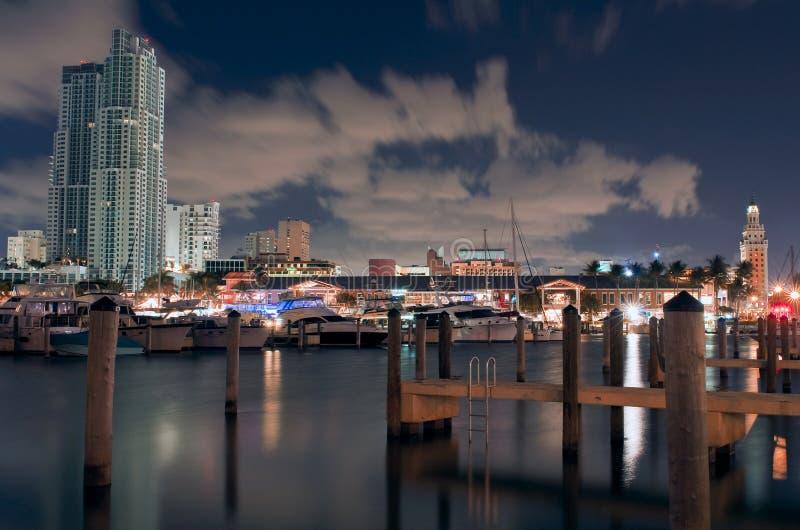 Schöner Jachthafen stockfoto