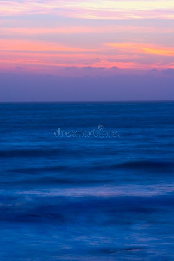 Schöner Kalifornien-Sonnenuntergang lizenzfreies stockfoto
