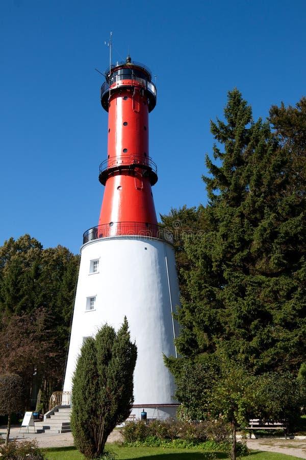 Schöner Leuchtturm stockbild