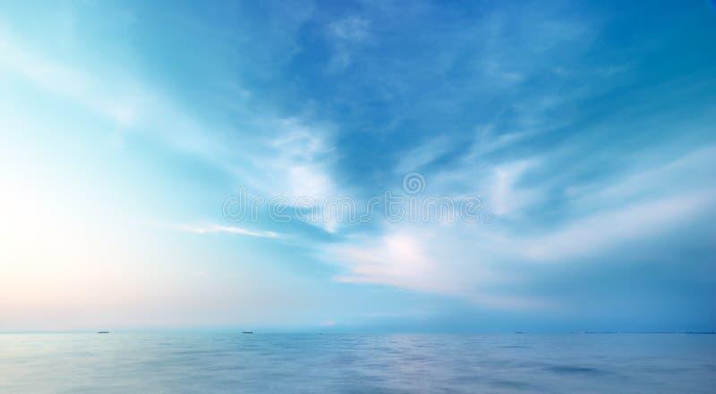 Schöner Meerblick stockbilder