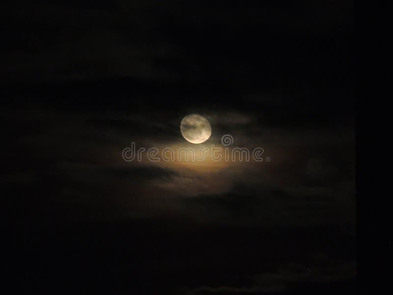 Schöner Mond stockfoto