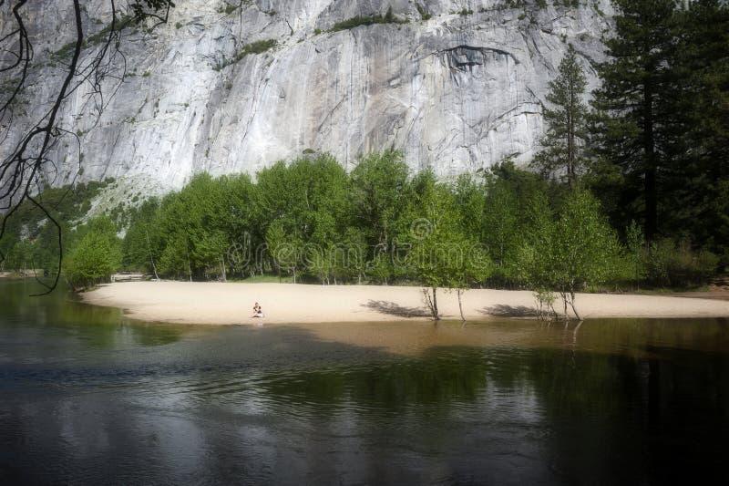 Schöner Morgen in Yosemite Nationalpark stockbilder